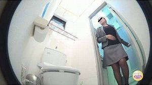 1駆け込みトイレOLおなら スカシのはずが…!