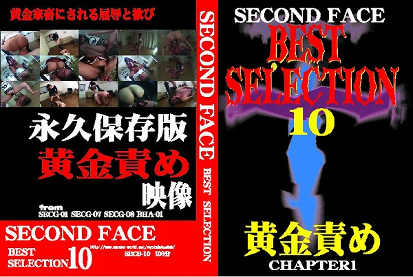 SECONDFACE BEST SELECTION10 黄金責め CHAPTER1