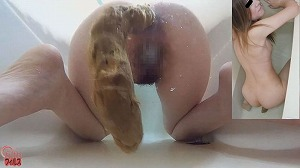 1_1素人娘 お風呂でウンコを撮りました!