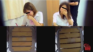 3_4図書館娘のオナラ2 ~館内、静寂の中に響く恥音~