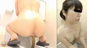 3_3汗濁全裸脱糞女① 裸体に滴る汗とうんこ